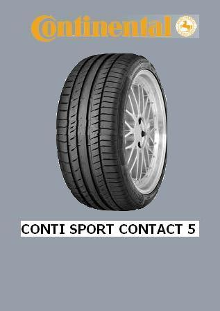 0351499 gomma continental 235/45r 18 contisportcontact5 tl 'xl' 98 w