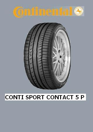 0356271 gomma continental 245/40r 19 csport contact5 p tl ´xl´ 98 y