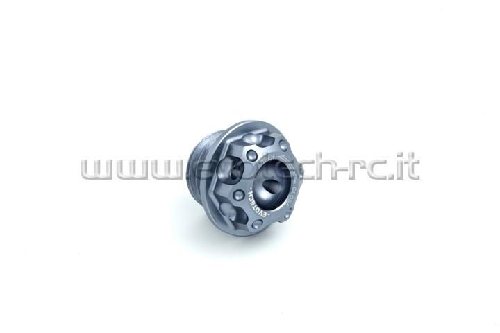 OFC-04/TI Tappo olio Honda,Ducati(frizione bagno d´olio),Kawasaki ...